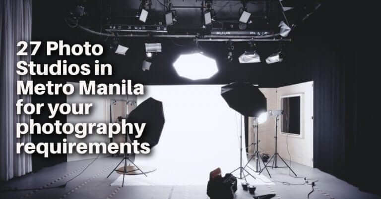 27 Photo Studios in Metro Manila for your photography requirements