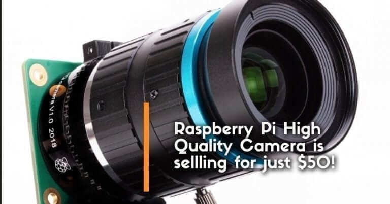 Raspberry Pi High Quality Camera is sellling for just $50! 12.3 Megapixel goodness!
